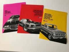 Motorcraft Dream Cruise Posters Campaign #2